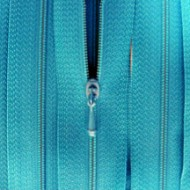 "4 1/2"" Turquoise Zipper"
