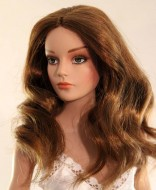 Zsa Zsa, Synthetic Mohair Wig, Size 4-5, Reddish Brown